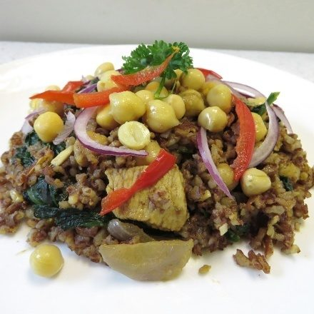 Rice And Chickpea Pilaf - RECIPES - AceNuwara - Nature's Finest Gifts